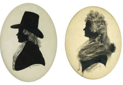 The Ink and Wash silhouettes of Mr Charles