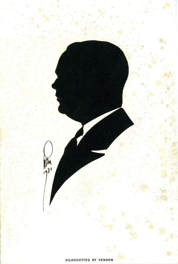 A silhouette by Dai Vernon