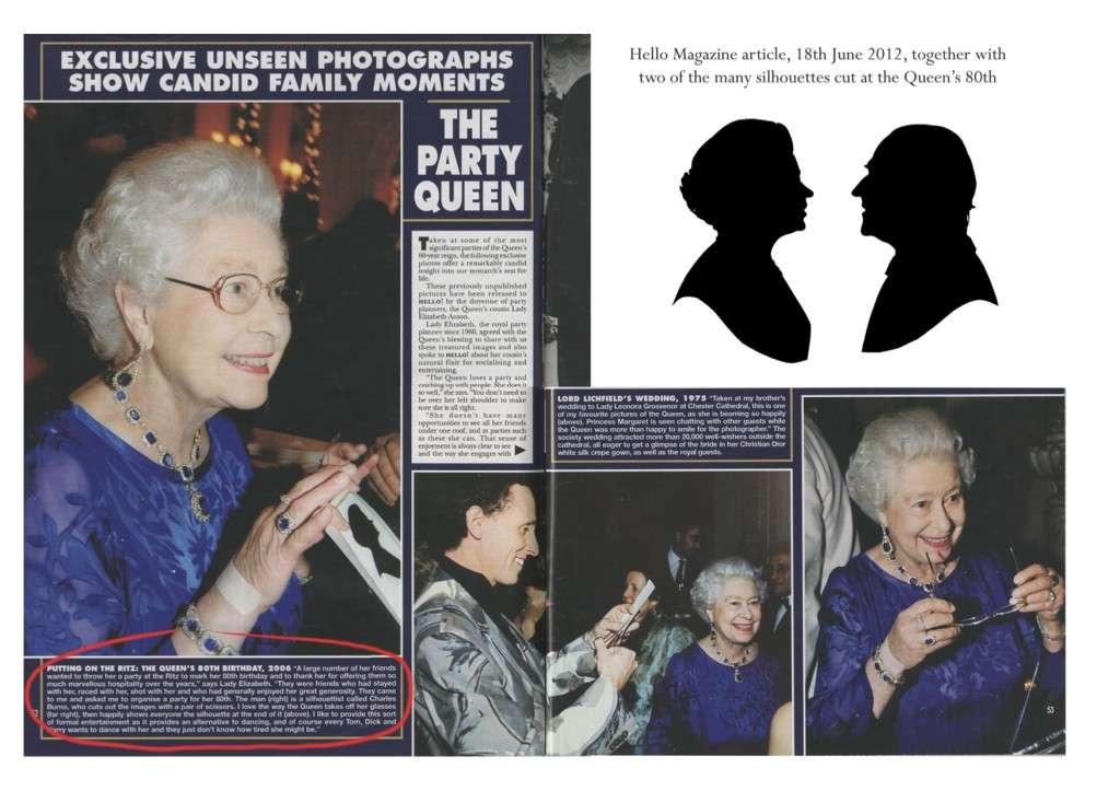 Hello Magazine article 18/6/2012