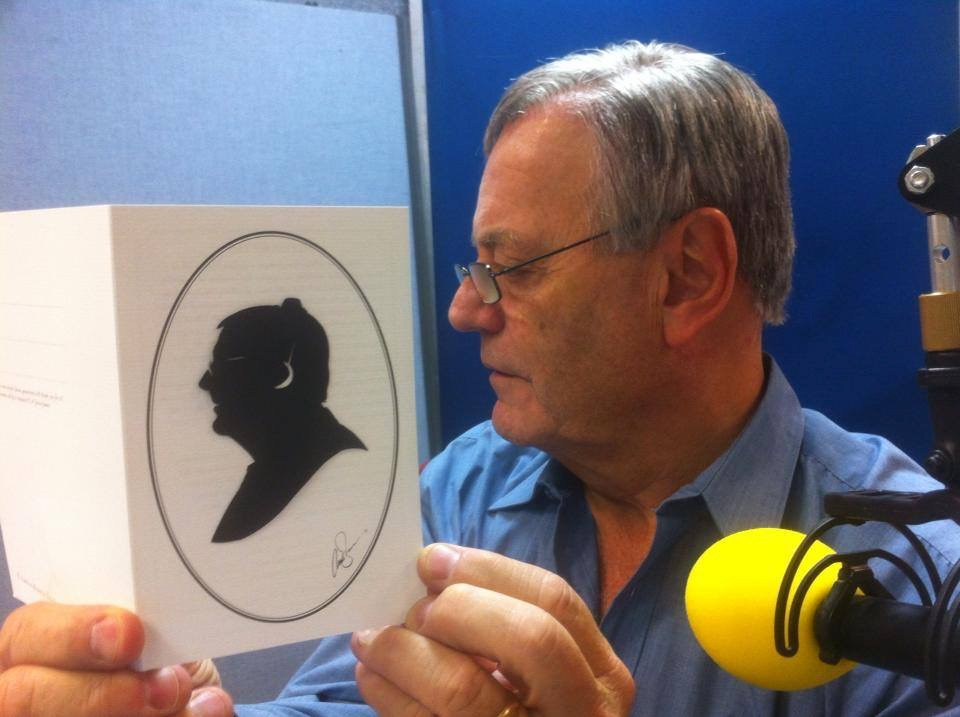 Tony Blackburn silhouette