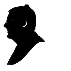 Tony Blackburn silhouette