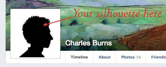 Digital Selfie of Charles Burns