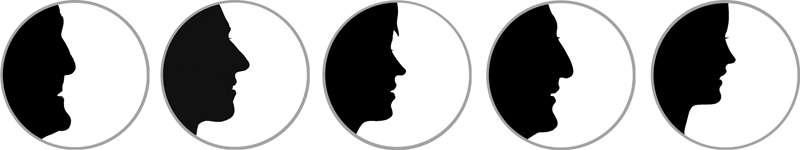 Silhouette Badges