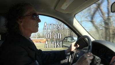 Arrest of an artist