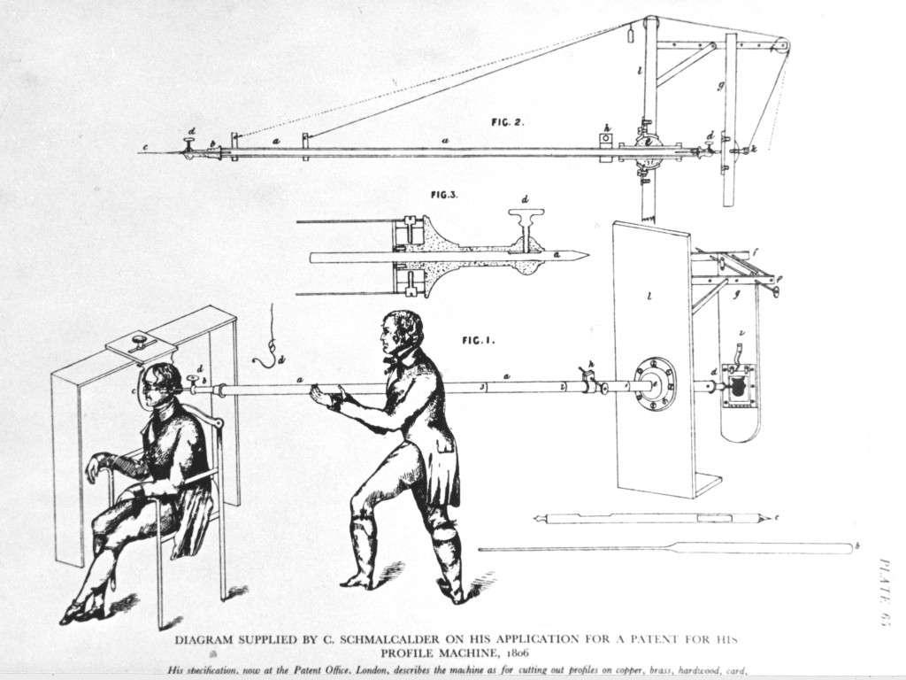 Schmalcalder's physiognotrace