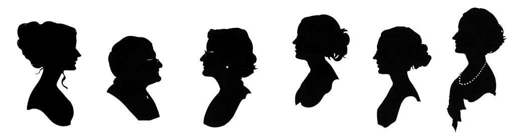 Classic cameo silhouettes