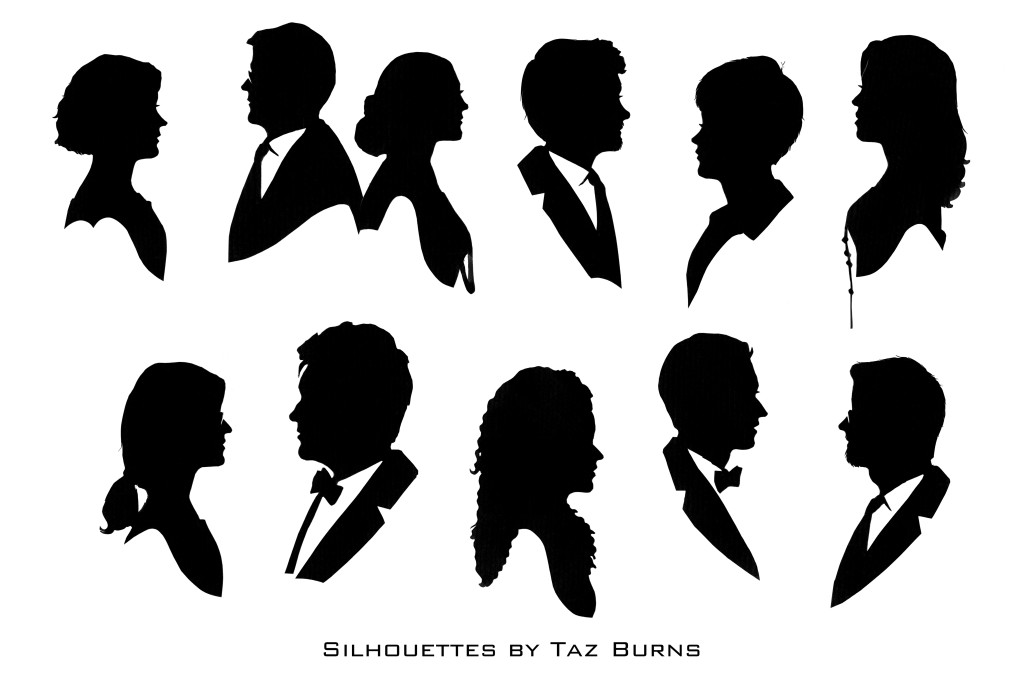 Silhouettes by Taz Burns