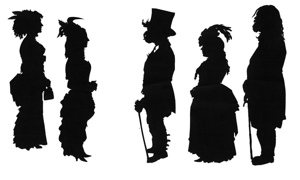 Whitby Goth Silhouettes