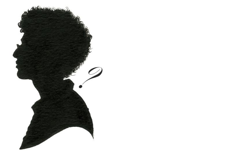The Studio: <i>a painted silhouette of Nicholas</i>