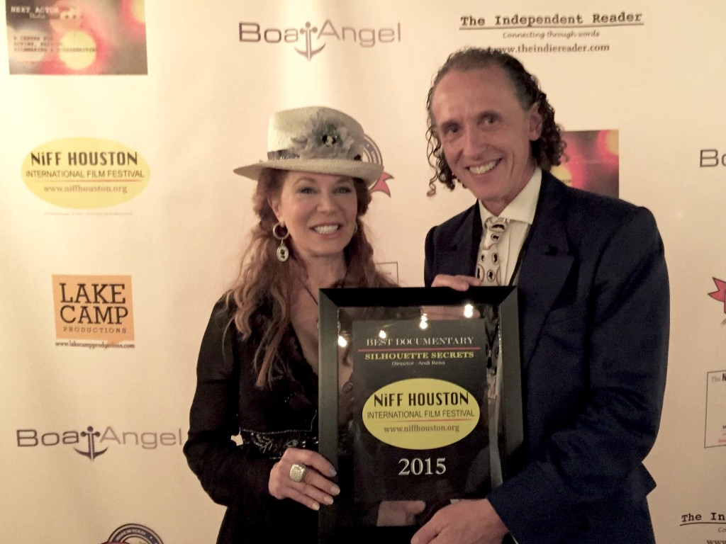 Cindi Rose and Charles Burns pick up Best Documentary at NIiFF Houston