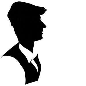 Man in cloth cap
