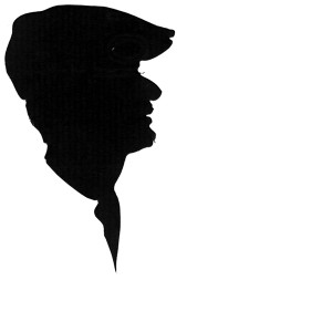 Man-with-cap silhouette