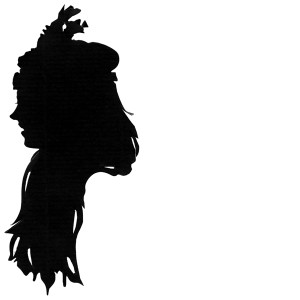 Girl with feathered head band