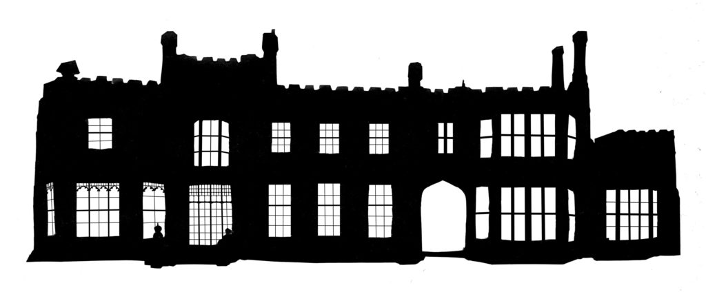 Nonsuch Mansion silhouette
