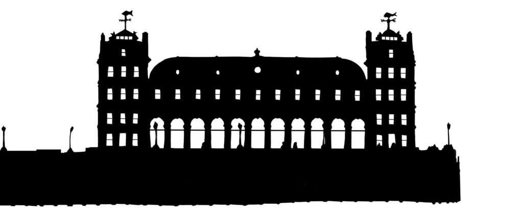 Old Billingsgate Market silhouette