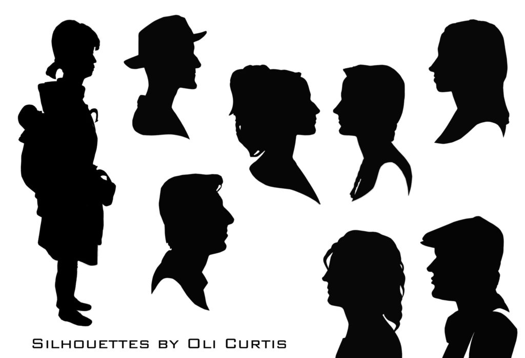 Silhouettes by Oli Curtis