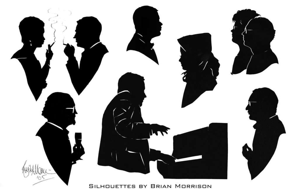 Silhouettes by Brian Morrison