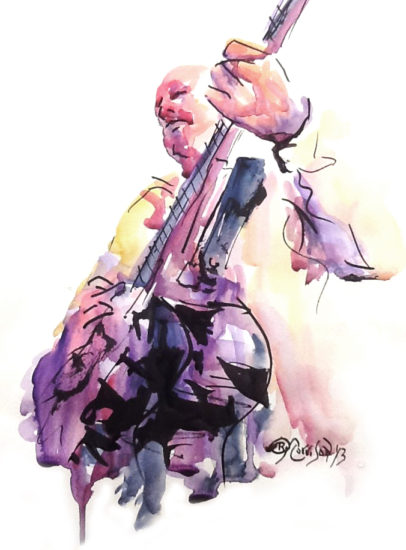 Guitarist by Brian Morrison