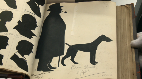 Leslie silhouettes from 1937