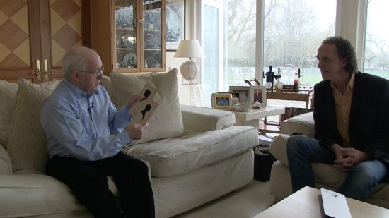 Our Paul Daniels cameo: Paul and I chat about a couple of silhouettes
