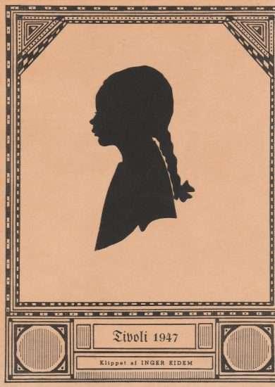 A girl by Ingar Eidem