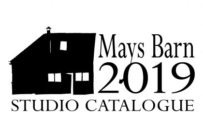 Mays Barn 2019 Studio Catalogue now out