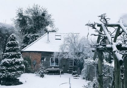 Mays Barn: a silhouettist's studio