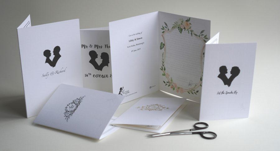 Wedding branded cards