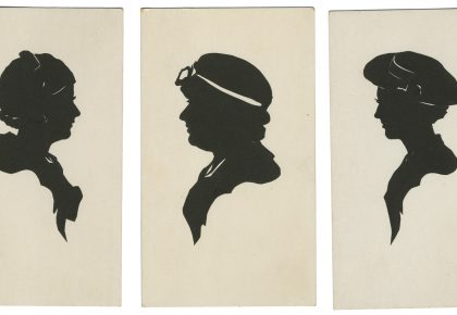 Carl Ackerlund, blacksmith silhouettist from Minnesota