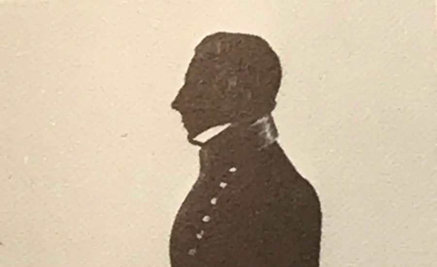 Head of a naval officer