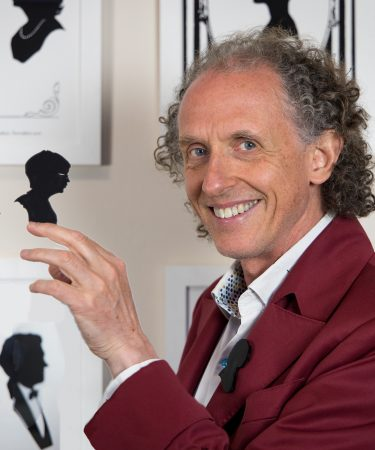 Charles in hs Zoom studio