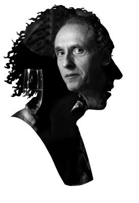 Photographic portrait inside a silhouette